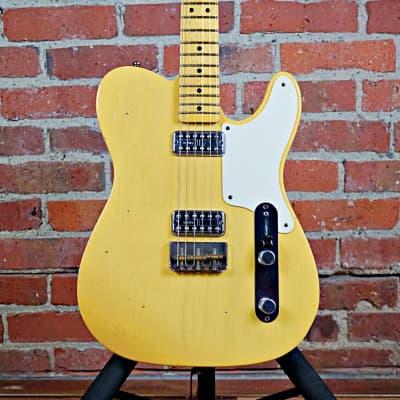 Fender La Cabronita Especial Telecaster Journey Man Relic 2015 Nocaster Blonde (Video Demo)