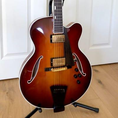 Trenier Custom Jazz Guitar 2008 Dark Sunburst for sale