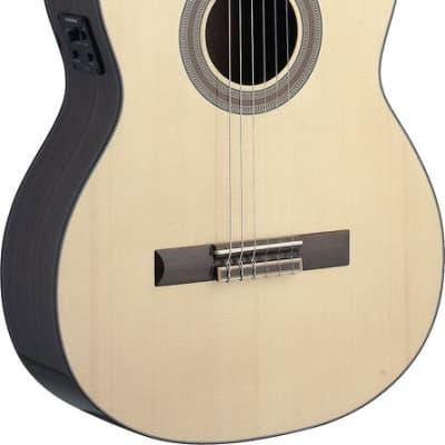 ANGEL LOPEZ SAU-CFI S Konzertgitarre mit Tonabnehmer for sale