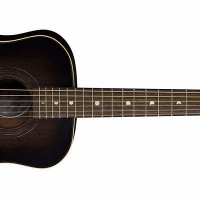 Luna Safari Artist Vintage Travel Guitar w/ Gigbag for sale
