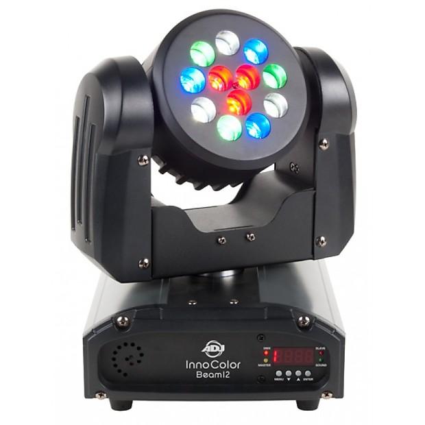 adj inno color beam 12 midwest pro sound lighting reverb