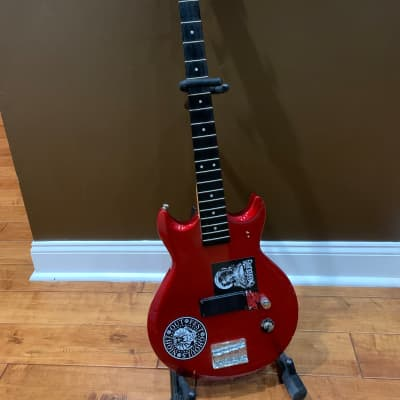 Ibanez Gio GAXB150 medium scale bass  2000 Red for sale