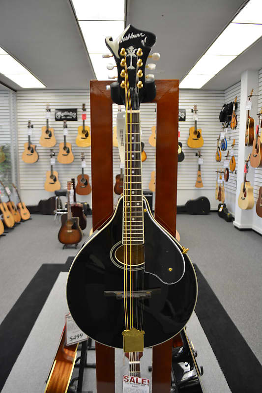 Washburn M1SDLB Mandolin - Black