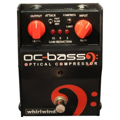 Whirlwind FXOCBP OC BASS Optical Bass Compressor Pedal for sale