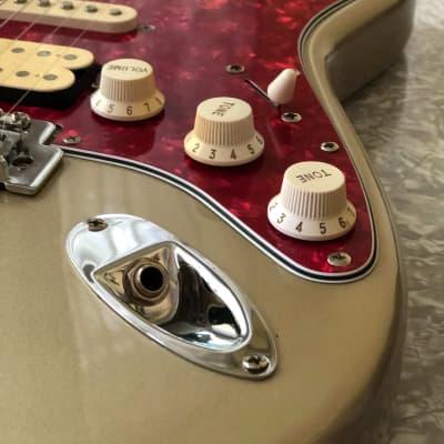 Vintage Austin Strat  AU733  Gold/Red Pearloid HSS for sale