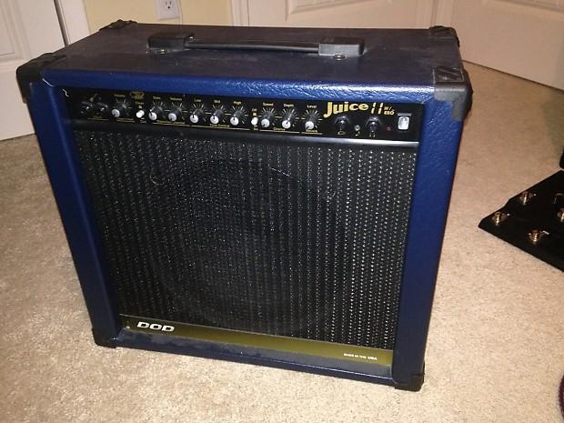 dod juice it guitar amp blue reverb. Black Bedroom Furniture Sets. Home Design Ideas