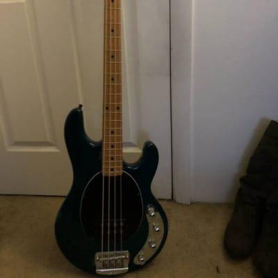 Ernie Ball Music Man Stingray Bass 1998 Teal