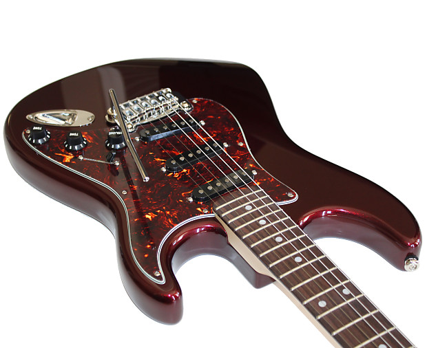 g l legacy electric guitar in ruby red metallic matching reverb. Black Bedroom Furniture Sets. Home Design Ideas