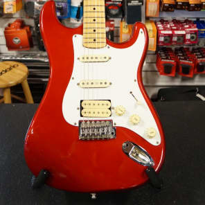 Mako Tradition TS-3 Candy Apple Red MIK Sweet Strat Copy! for sale