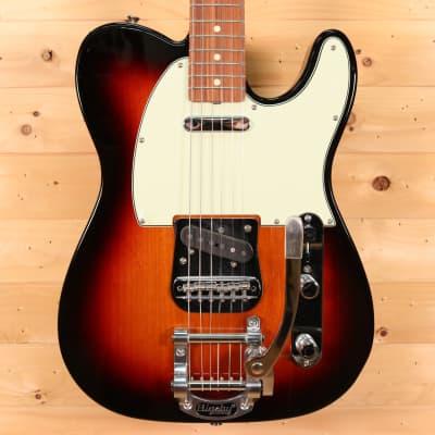 Fender Vintera Series '60s Telecaster 2019 Electric Guitar w/ Bigsby Vibrato - 3-Color Sunburst for sale