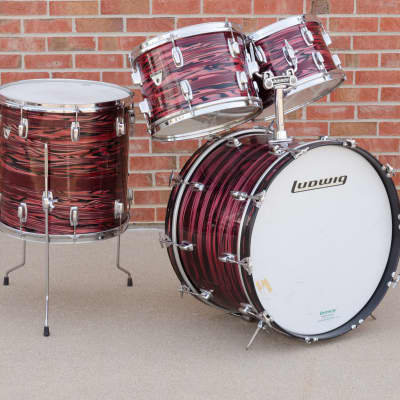 """Ludwig S-330 Standard Series Twin-Tom Drum Set with 22"""" Bass Drum 1969 - 1974"""