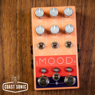 Chase Bliss Audio MOOD Two channel granular micro-looper / delay