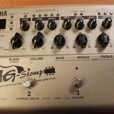 Yamaha AG Stomp Acoustic Guitar Pre-Amplifier - Processor | Reverb