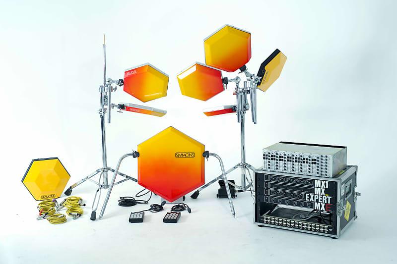 1981 Simmons SDS5 / SDSV Modular Drum Synthesizer
