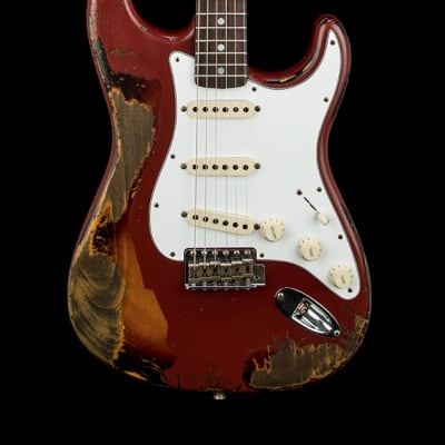 Fender Custom Shop Empire 67 Stratocaster Super Heavy Relic - Cimarron Red/3 Color Sunburst #48255 for sale