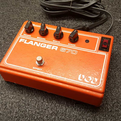 DOD Flanger 670 Vintage 1980 USA SAD512D for sale