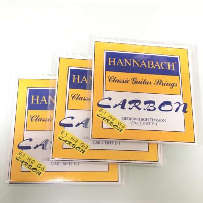 Hannabach 3x ECAR 8MHT Carbon Treble strings set