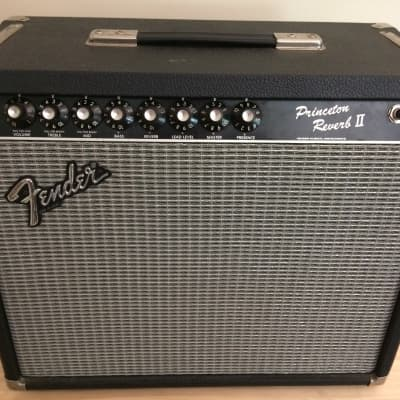 Fender Princeton Reverb II 1984 Black for sale