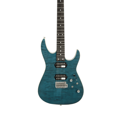Shijie TM380 1 PC Mahogany Body Ebony Fingerboard 2021 Bluish grey(Matte) for sale