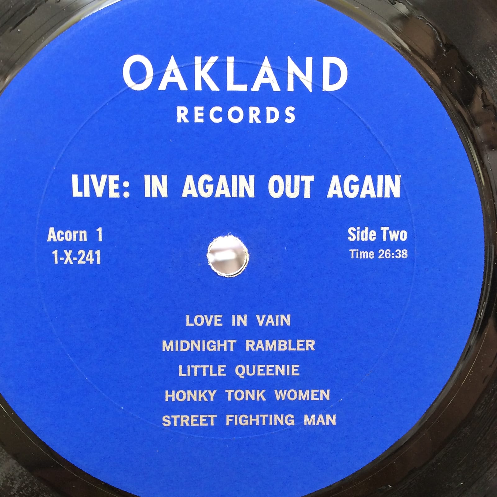 The Rolling Stones - Liver Than You'll Ever Be / Live: In Again Out Again -  Vinyl