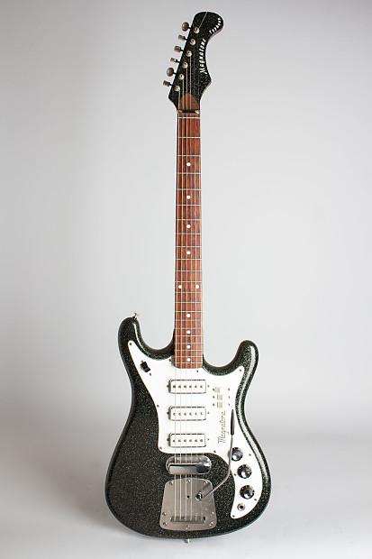 magnatone typhoon x 20 solid body electric guitar 1965 reverb. Black Bedroom Furniture Sets. Home Design Ideas