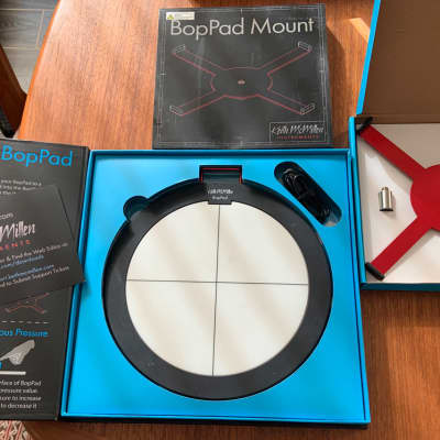 Keith McMillen Instruments BopPad Smart Fabric Drum Pad with stand mount