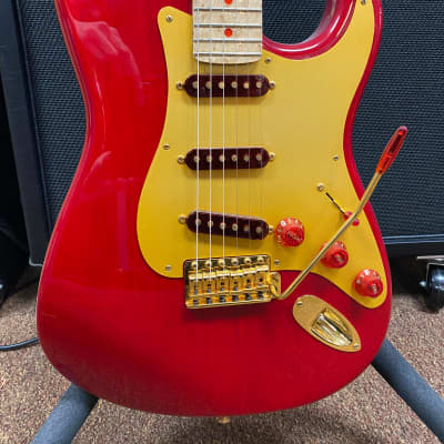 Fender Custom Shop Stratocaster 1996 Ruby Red Brand New NOS with original case, Certificate of Authenticity. Number 6 of 12