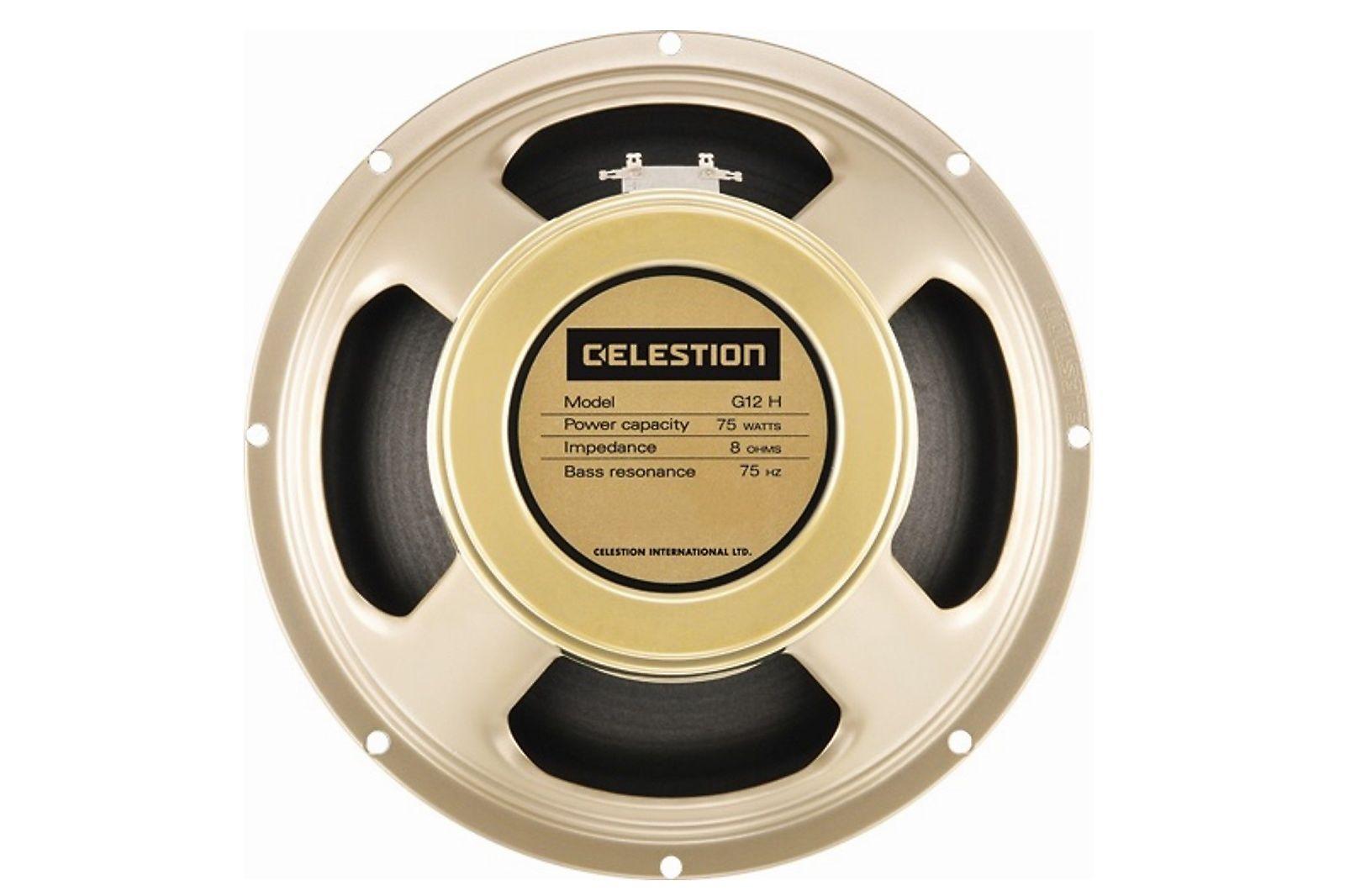 celestion g12h 75 creamback 12 75 watt 8 ohm speaker reverb. Black Bedroom Furniture Sets. Home Design Ideas