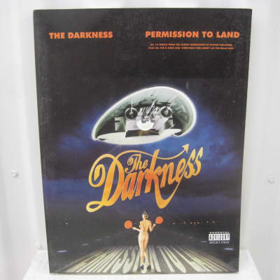 The Darkness Permission to Land Sheet Music Song Book Guitar Tab Tablature