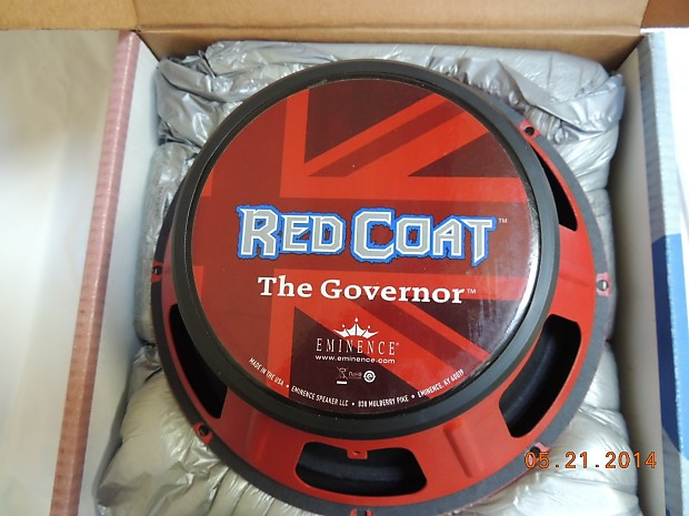 Eminence Red Coat Series The Governor 12