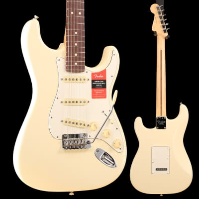 American Pro Stratocaster, Rosewood Fingerboard, Olympic White S/N US19023514 7lbs 11.5oz