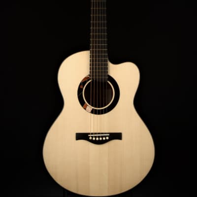 Peggy White OM Cutaway Italian Spruce/Koa for sale