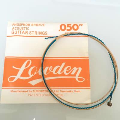 Lowden Vintage Phospor Bronze Acoustic Guitar String .050