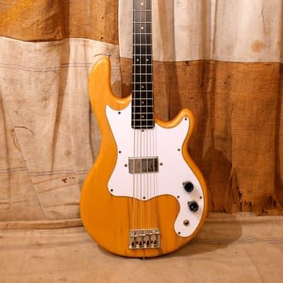Kramer 250B Bass Guitar 1977 Natural for sale