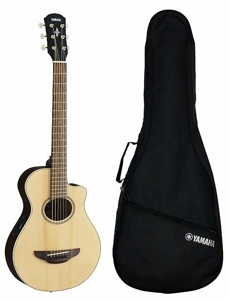 Yamaha APXT2 3/4 Acoustic/Electric Cutaway Guitar Spruce