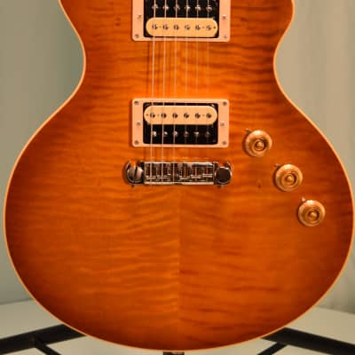 Berumen Flat Top 2014 Lemon Burst (stock #147) for sale