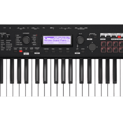Korg Kross 2 61 key Workstation Matte Black