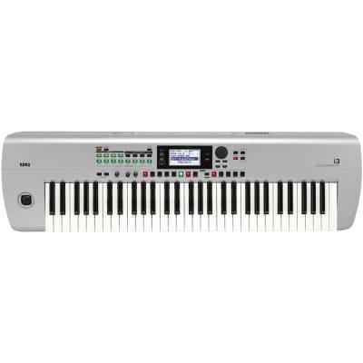 Korg i3 MS Music Workstation Tastiera Silver