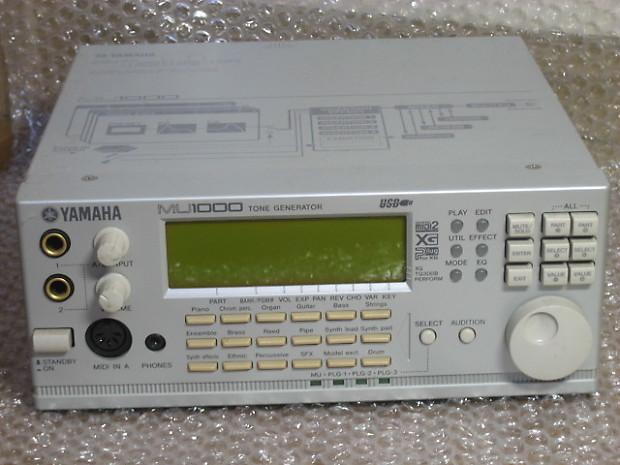 YAMAHA MU 1000EX Sound Synth Module GM XG,DAW,MIDI karaoke/Top of Mu  50,80,100/Int'l F/S from JAPAN