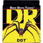 DR DDT-11 Drop Down Tuning Extra Heavy Electric Guitar Strings (11-54) image