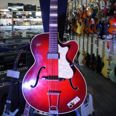 Hofner President Archtop Red 1958 for sale