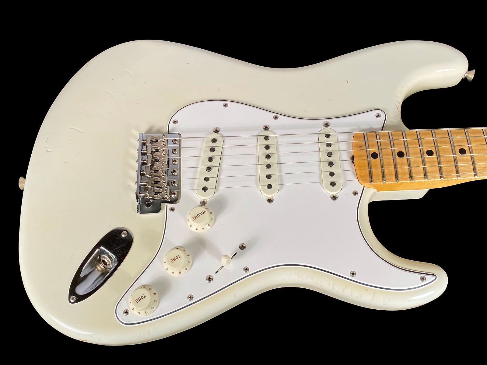 2019 Fender Stratocaster Custom Shop Jimi Hendrix Woodstock Limited Edition Izabella ~ Olympic White