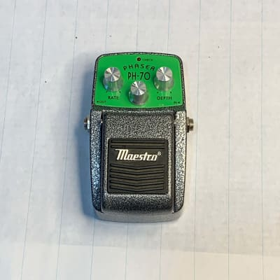 Maestro PH-70 Phaser Charcoal Gray / Green for sale