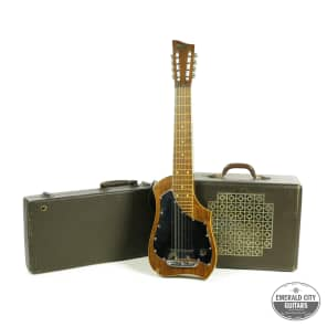 1940's Audiovox 8-String Lap Steel + Amp Set for sale