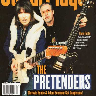 Guitar Player 2003 Pretenders Scott Henderson Kittie Yardbirds Michael Hedges Tin Hat Trio The Music
