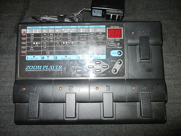 Best Guitar Multi Effects Processor 2020 Zoom 2020 Multi Effects Processor | Reverb