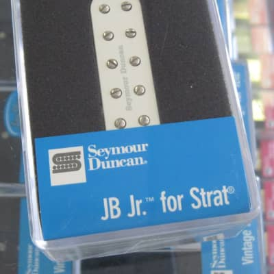 Seymour Duncan JB Jr. for Strat Bridge White SJBJ-1b