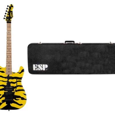 ESP LTD GL-200MT George Lynch 200M1 Tiger + ESP ST-TE Form Fit Case for sale