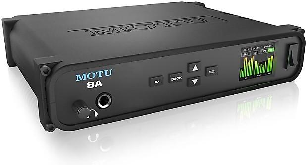 motu 8a 16x18 thunderbolt usb 3 0 audio interface with avb reverb. Black Bedroom Furniture Sets. Home Design Ideas