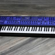 RARE and MINT! Dave Smith Instruments Poly Evolver 2012 Black and Blue